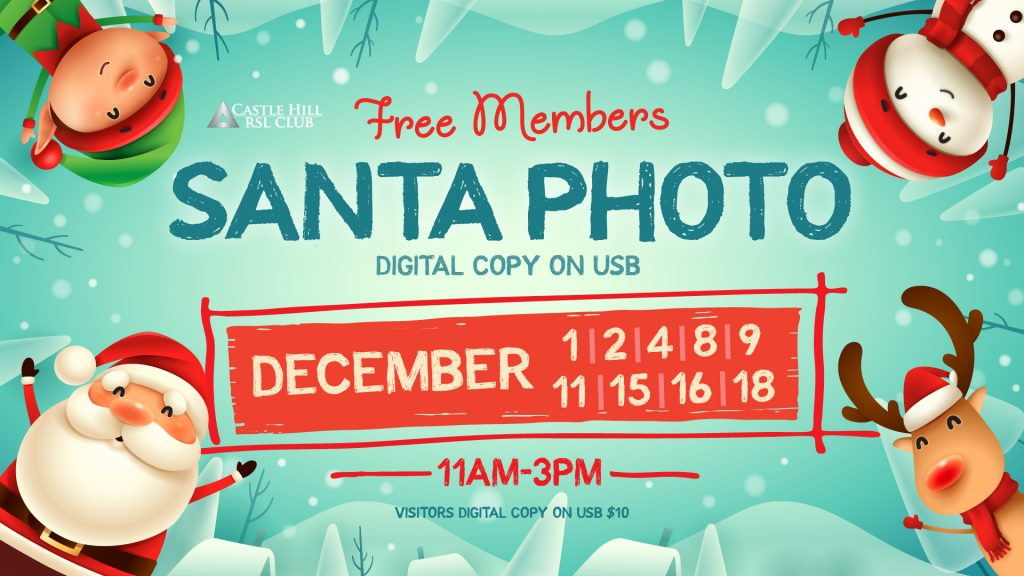 Santa Photos at Castle Hill RSL