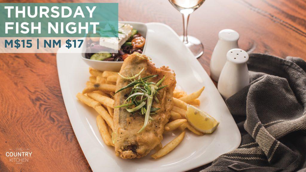 Thursday Fish Night