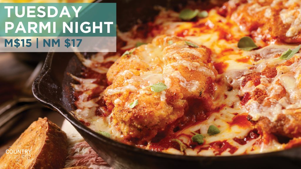 Tuesday Parmi Night