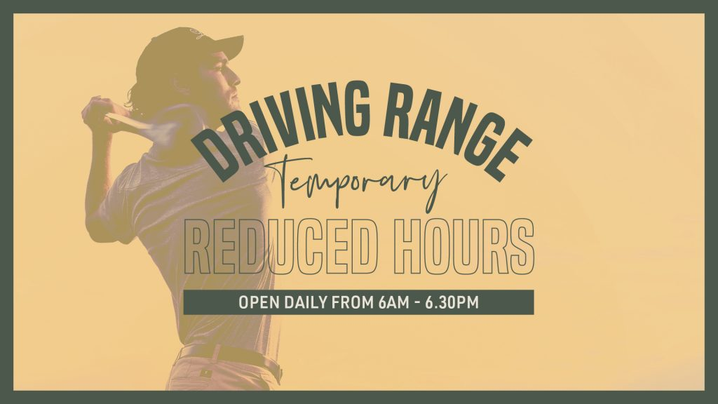 Temporary Reduced Driving Range Hours