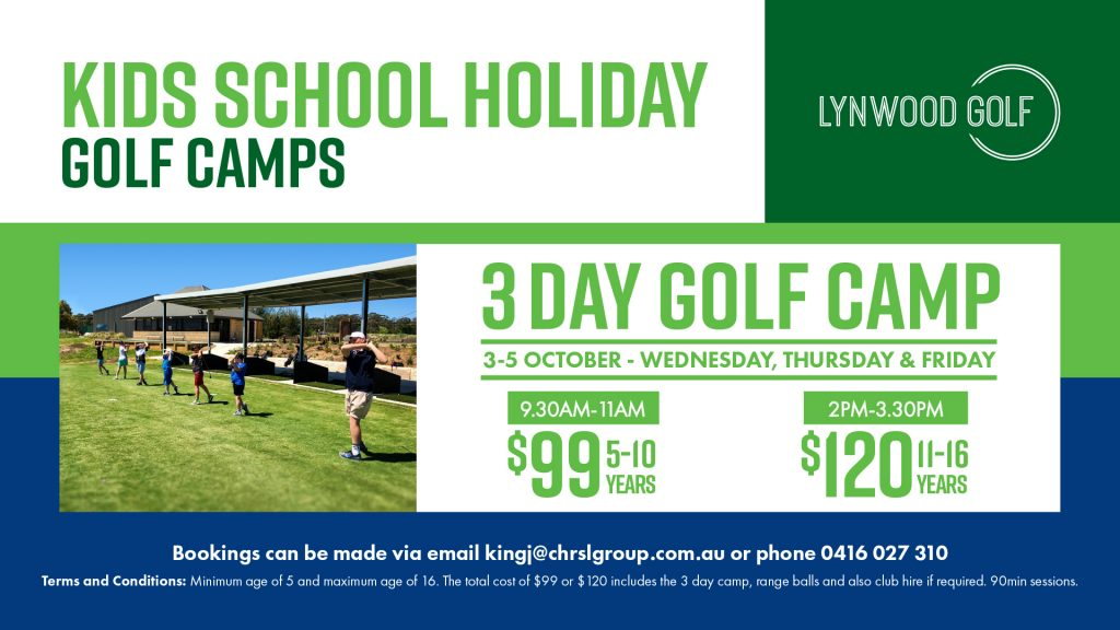 Kids School Holiday Golf Camps
