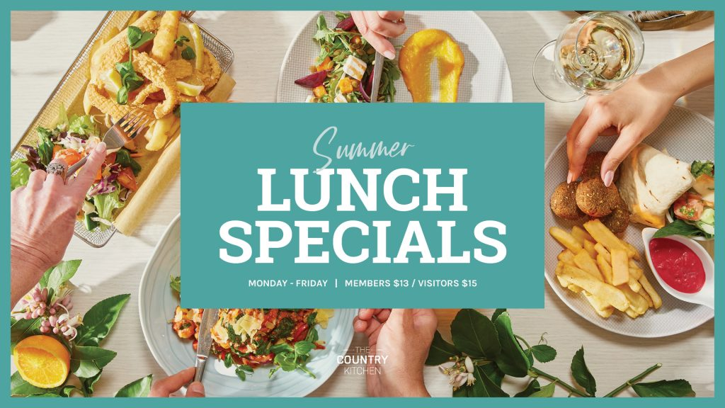 Summer Lunch Specials