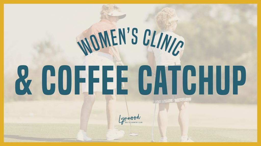 Women's Clinic and Coffee Catchup