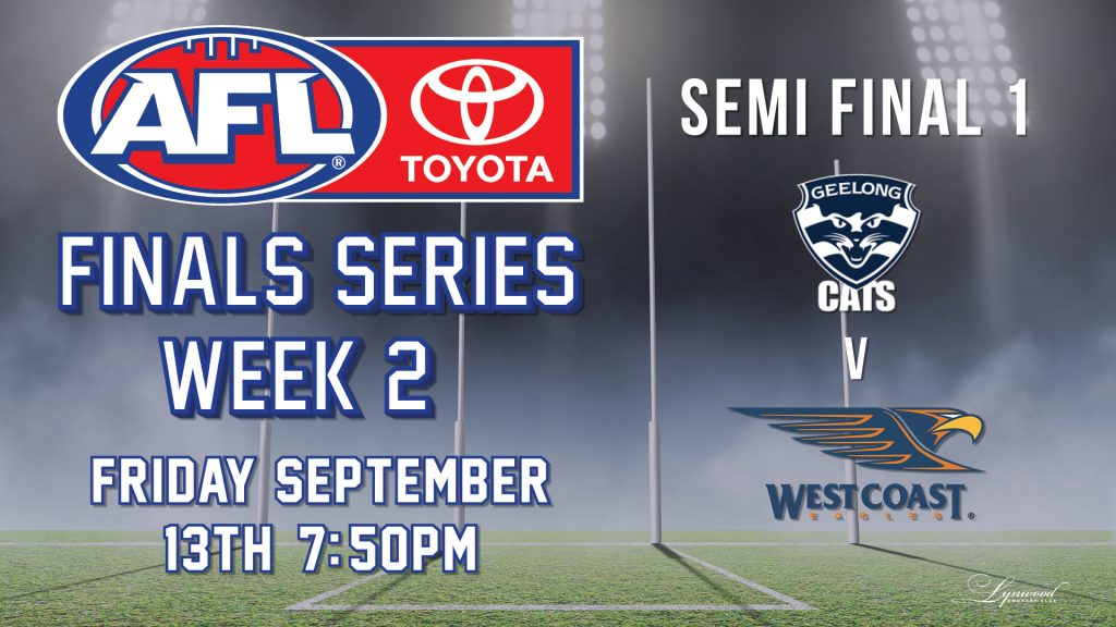 AFL Finals Series: Geelong Cats v West Coast Eagles