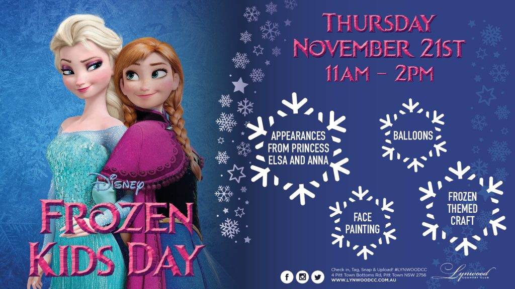 Frozen Kids Day