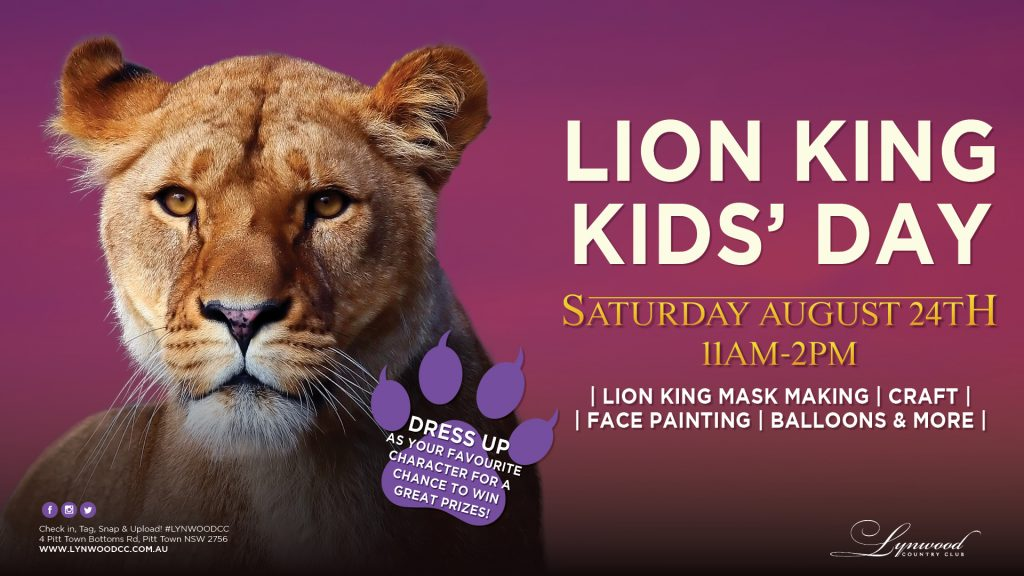 Lion King Kids Day