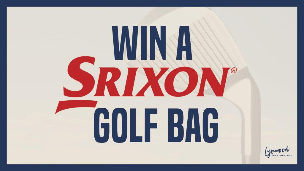 Win a Srixon Golf Bag