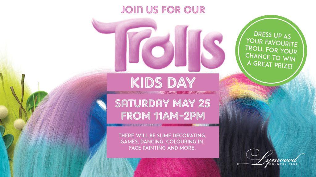 Trolls Kids Day