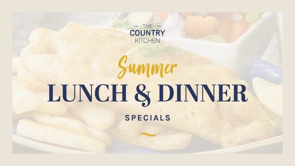 Summer Lunch and Dinner Specials
